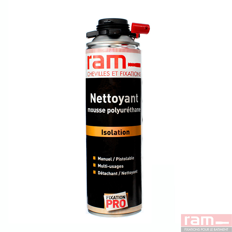 nettoyant acetone pour mousse polyur thane ram. Black Bedroom Furniture Sets. Home Design Ideas